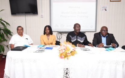 Education Ministry launches Model Safe School programme – creating safer, greener institutions