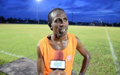 Cleveland Thomas prepared for upcoming 10K race in Panama