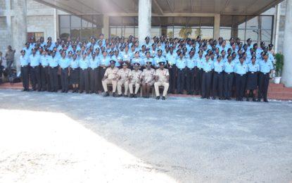 GPF welcomes 133 new ranks