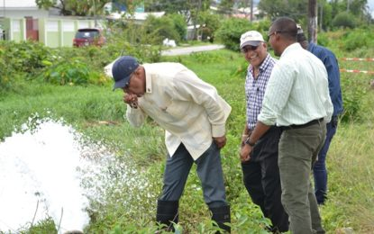 24-hr water supply system for Sparendaam, surrounding communities