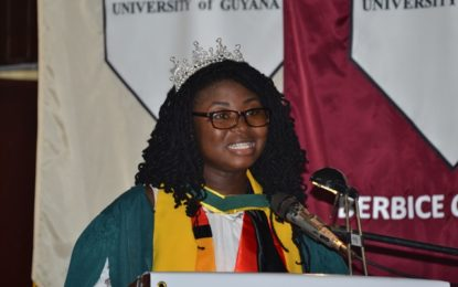 """I am a living breathing example of God's grace"" UG's valedictorian"
