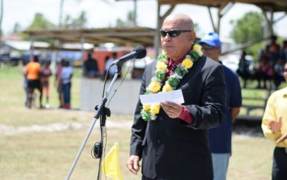 Minister Norton envisions tertiary-level sport meet in near future