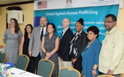 IOM to help build capacity to combat TIP
