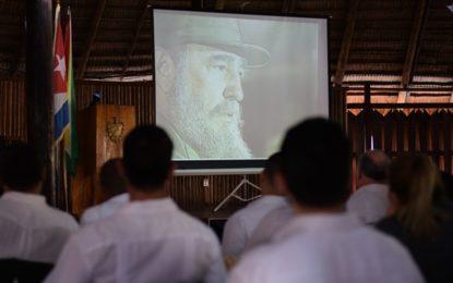 Tribute paid to late revolutionary leader Fidel Castro
