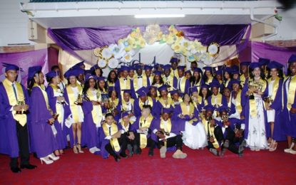 President's College Graduands told that they need to exercise discipline and commitment towards achieving goals