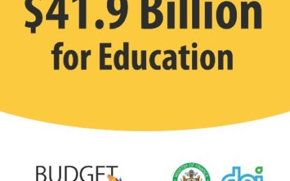$41.9B for improvement of Education Sector