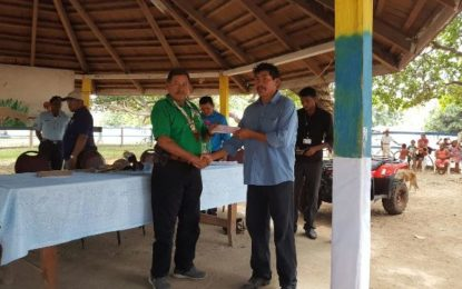 Karassabai receives $1.5M to furnish Amerindian Hostel