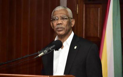 President confident Guyana 'on good ground' –as it awaits decision on Guyana-Venezuela controversy