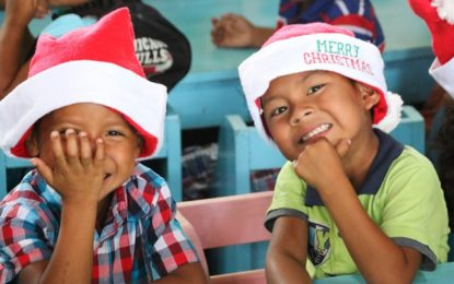 Christmas cheer in the village of Paramakatoi
