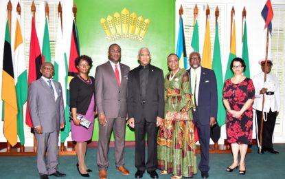 Guyana gets new Bahamian High Commissioner