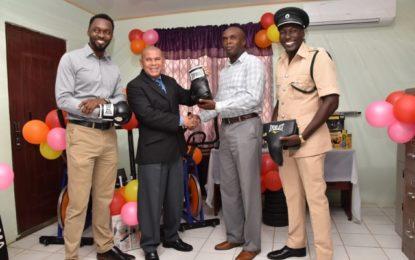 Minister Norton contributes sports gear to facilitate prisoner rehabilitation