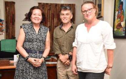 First Lady agrees to be patron of women adventurers' Essequibo River expedition