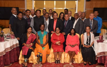 Guadeloupe/Martinique delegation currently exploring business opportunities in Guyana