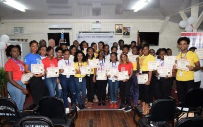 Youth educators certified – to provide services on sexually transmitted diseases, gender based violence
