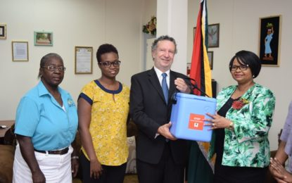 Brazil donates 10,000 units of MMR Vaccine to Guyana