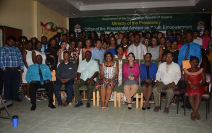 Guyana's youth now better prepared for leadership roles- Minister Hughes
