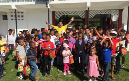 Social Cohesion Minister fetes children of Riversview