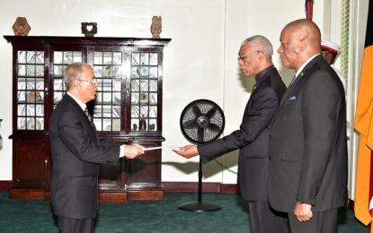 Guyana, Cuba to increase trade, cooperation  -As President accredits new Ambassador