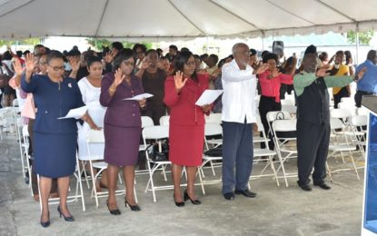 Public Health Ministry anticipates 'stunning success' – 2018 dedicated to faith in God