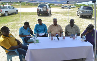 Inter-agency approach to resolve issues affecting Agriculture in Coomacka