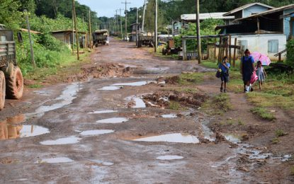 Port Kaituma road works moving ahead amidst challenges