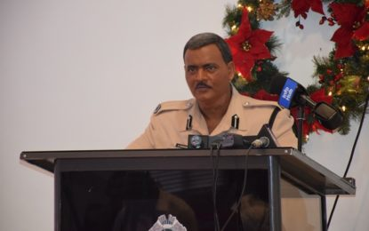 GPF records decrease in crime for 2017 – Acting Commissioner Ramnarine