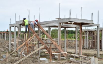 Construction of housing units moving apace in Region Five