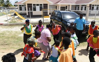 A community inspired to change -Minister Broomes returns to Ann's Grove