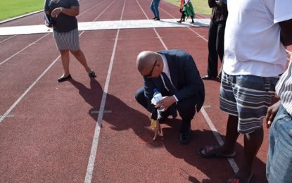 Minister Norton gets firsthand look at sporting facilities