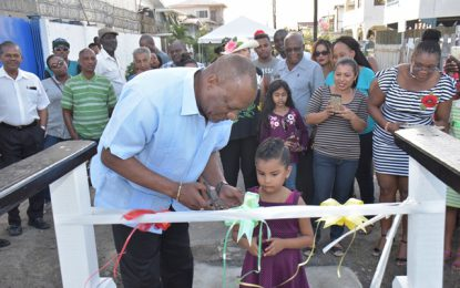 """Once it has to do with the quality of life of our people, we will be there with you"" – State Minister makes good on promise to Alexander Village residents"
