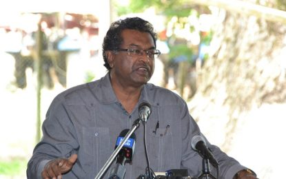 """""""Govt needed to make some hard decisions"""" – Minister Ramjattan to retrenched Enmore sugar workers"""
