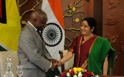 Guyana signs three MOUs with India