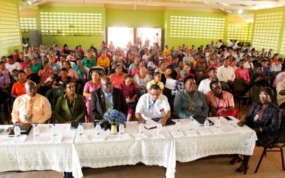 Ministry of Education takes Townhall meeting to Lethem