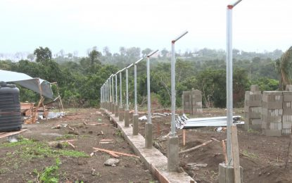Work begins on Mabaruma's Solar Farm