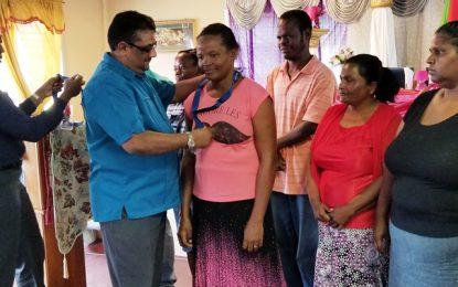 East Berbice Corentyne residents receive keys to new homes