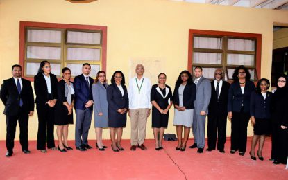 Rupununi Magisterial District Court Office opened  -President says access to justice integral to equality
