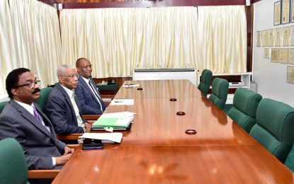 Opposition Leader a no show at scheduled meeting with President Granger