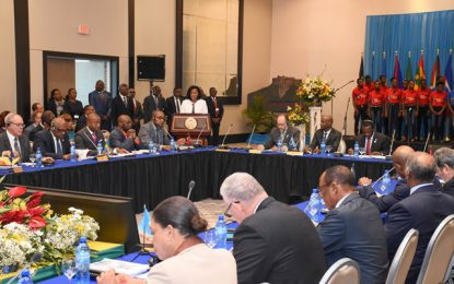 Building climate resilient states top of agenda at CARICOM Inter-sessional Meeting in Haiti
