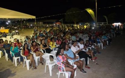 Calypso comes to the hinterland – semifinals receive massive support in Lethem