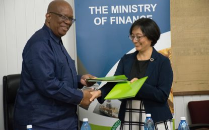 Japan contributes US$5M to Women's Disaster Management project in Guyana