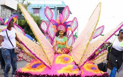 Scenes from Children's Mashramani Float Parade