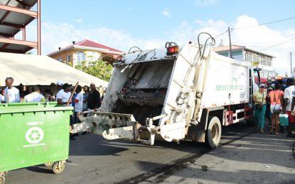 Mashramani Cleanup begins