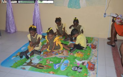 Toddlers Reading Programme moves to Region Three