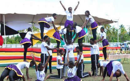 Region Five Children's Mash Competition sparkles