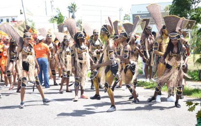 Fun and sun as revellers gear up for the road