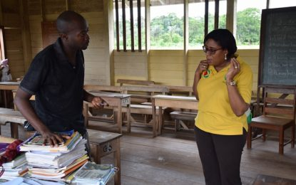 'Internet access at Fairview will revolutionise learning' – Fairview Toshao, Head teacher