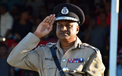 Commissioner Persaud's farewell honours a 'legacy of contemporary policing'