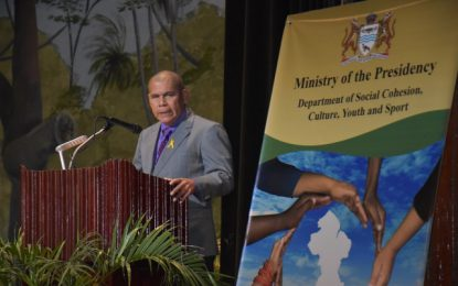 'Guyana could become the epitome of peace and love'  -Minister Norton says at Harmony Week Prayer Breakfast