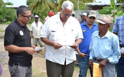 Minister Holder mandates agricultural agencies to resolve Belfield/Victoria farmers' concerns