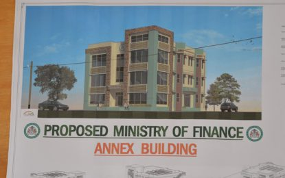 New $228M annex for Finance Ministry